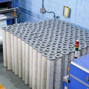 Filtro de particulas industrial