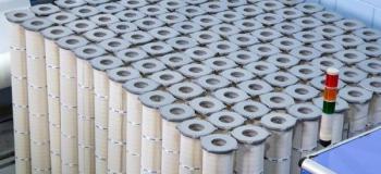 Elemento filtrante industrial